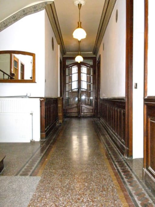 Corridor of your appartment