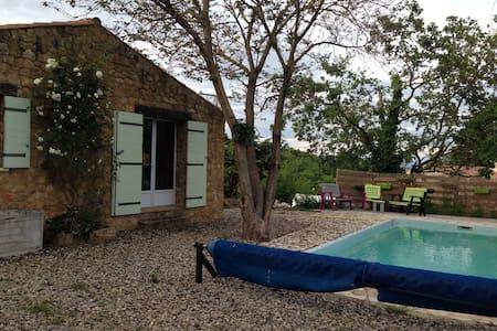Chambre dans maison au calme avec piscine - Salazac - Dom