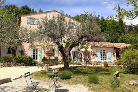 Lovely old Bergerie with pool, in a olive grove! - Bargemon - Villa