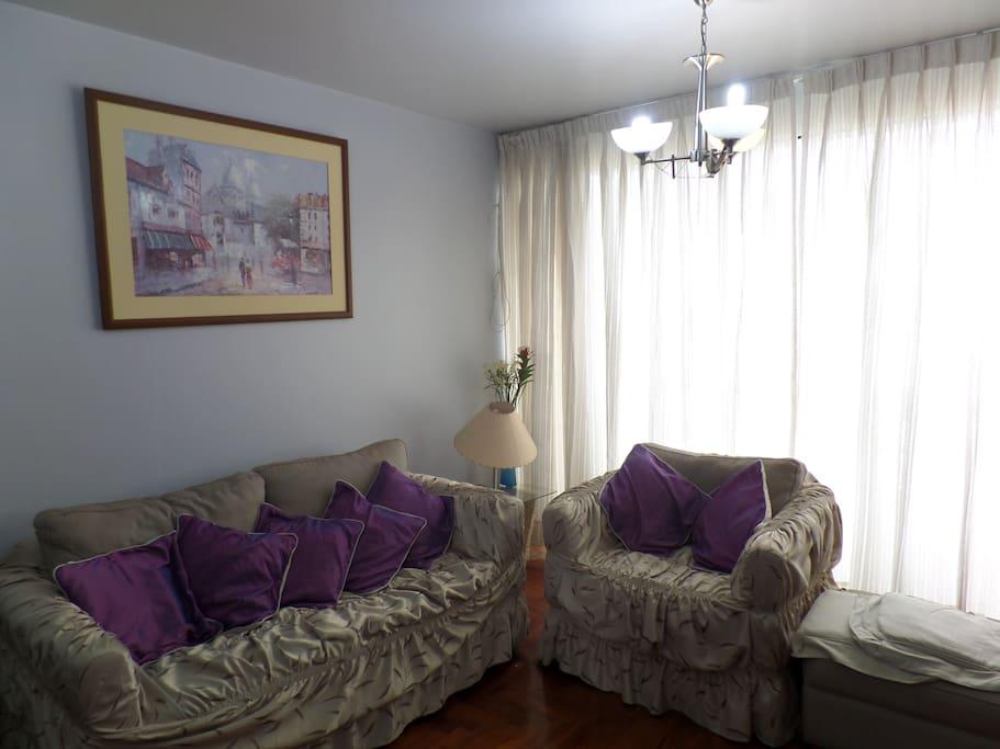 Cosy apartment in San Miguel hearth