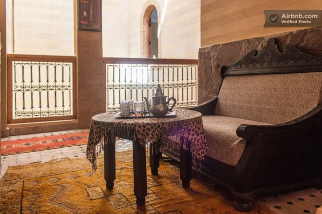 private room at riad tamazouzte