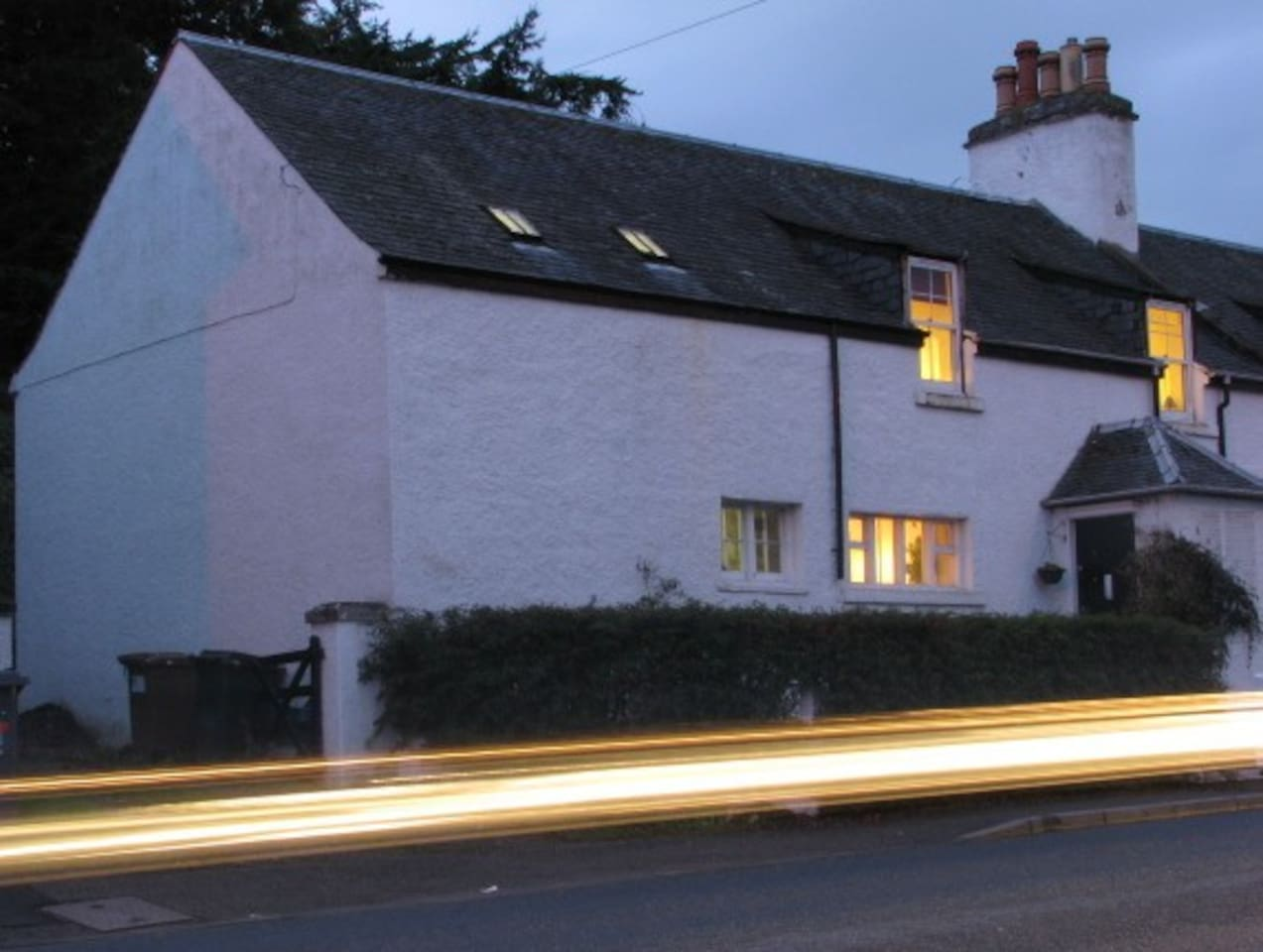 situated on the road to Beauly opposite the Caledonian canal and car park