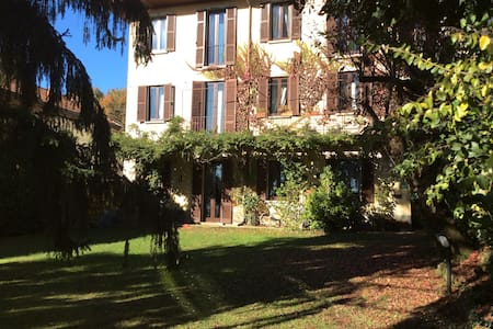 Lago Maggiore - Parco del Ticino - Sesto Calende - Villa