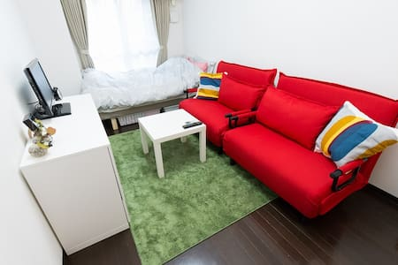 Central Shinjuku 3min→STA Free wifi - Apartment