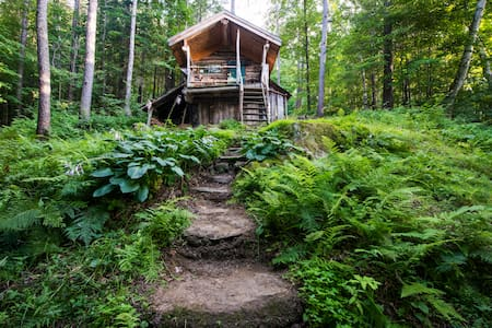Off the grid cabin in the Green Mountains - Bolton - Blockhütte