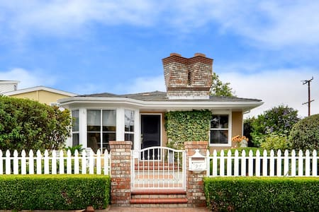 3/2 Cottage steps from Beach in Corona del Mar!! - Newport Beach - House