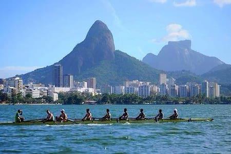 JB501 - RIO OLYMPICS 2016 - UP TO 5 PEOPLE - LAGOA - Rio de Janeiro - Apartment