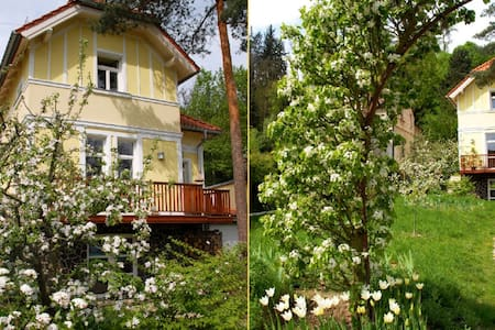 AMAZING HOUSE+BIG GARDEN -20min- Centre of PRAGUE - House