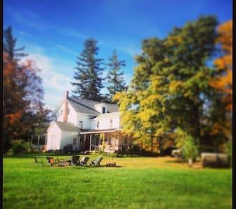 Vintage Catskills Farmhouse est1790 - Rumah