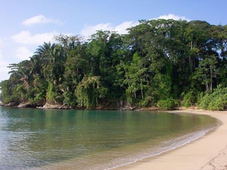 Punta Uva beach, West side