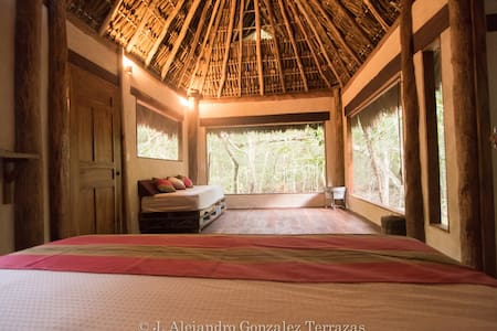 Peaceful and cozy jungle hideaway close to Tulum - Tulum - House