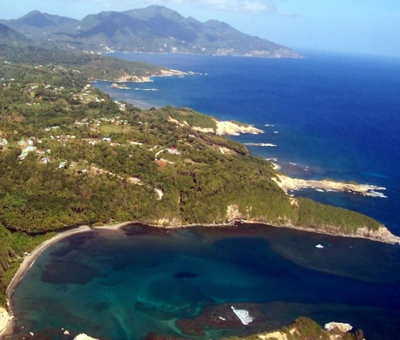 I took this of Hodges Bay looking north toward Vielle Casse