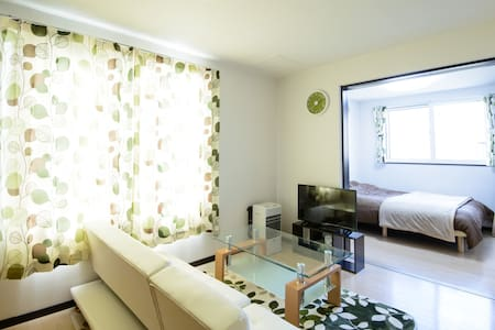 S102 Friendly host  Free pick up cozy apartment - Leilighet