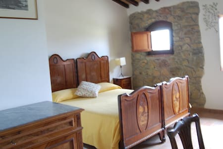 Myrthle db. : Tuscany near Volterra - Pomarance - Bed & Breakfast