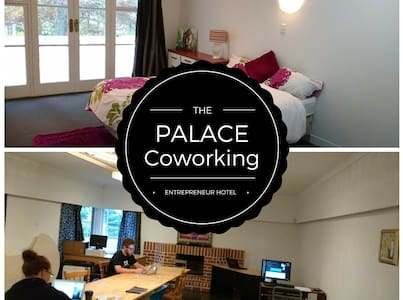 Comfy Private Room in a Co working Space - Auckland - Rumah