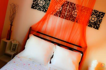 Harmonie Créole - Orange room - Bouillante - Bed & Breakfast