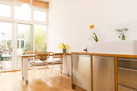 Loft familial avec jardin à Paris! - Paris - Loft
