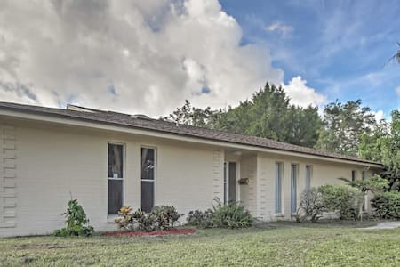Cozy 3BR Maitland House - 30 Mins to Disney! - Maitland - Haus