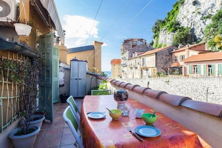 Nice le Port Appartement + terrasse - Nice - Apartment