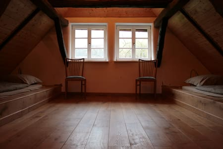 Liebevoll restaurierte Wohnung auf dem Voglerhof - Kirchbrak - Apartamento