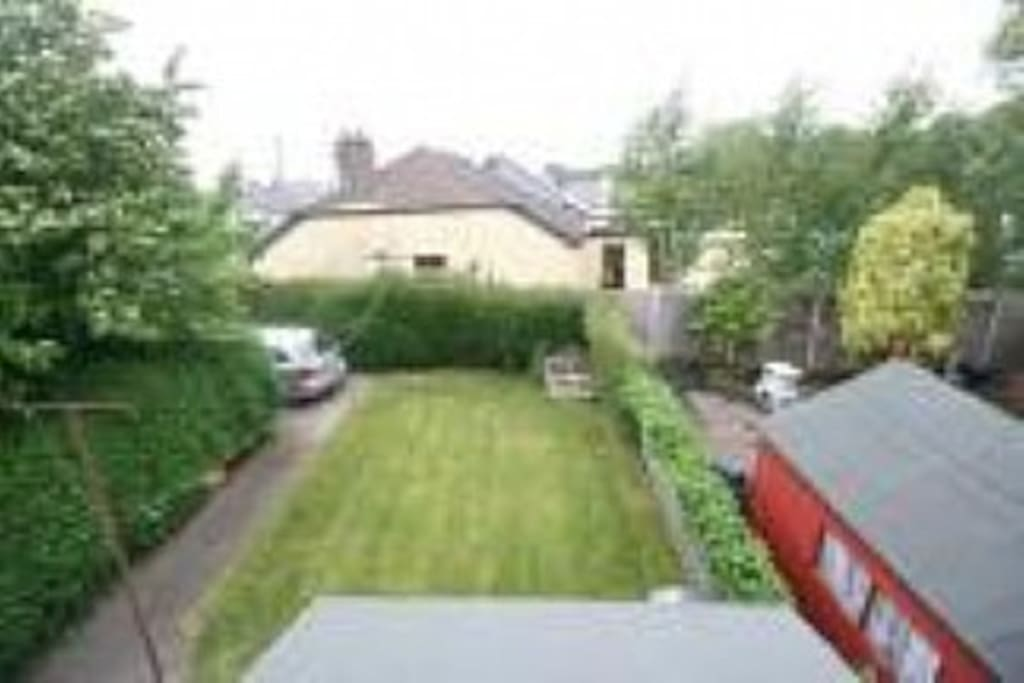 Back Garden with off street Parking