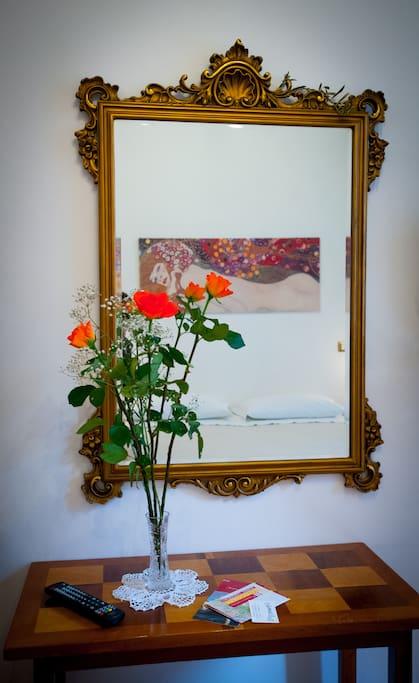 Gelsomina room in S.Pietro triple