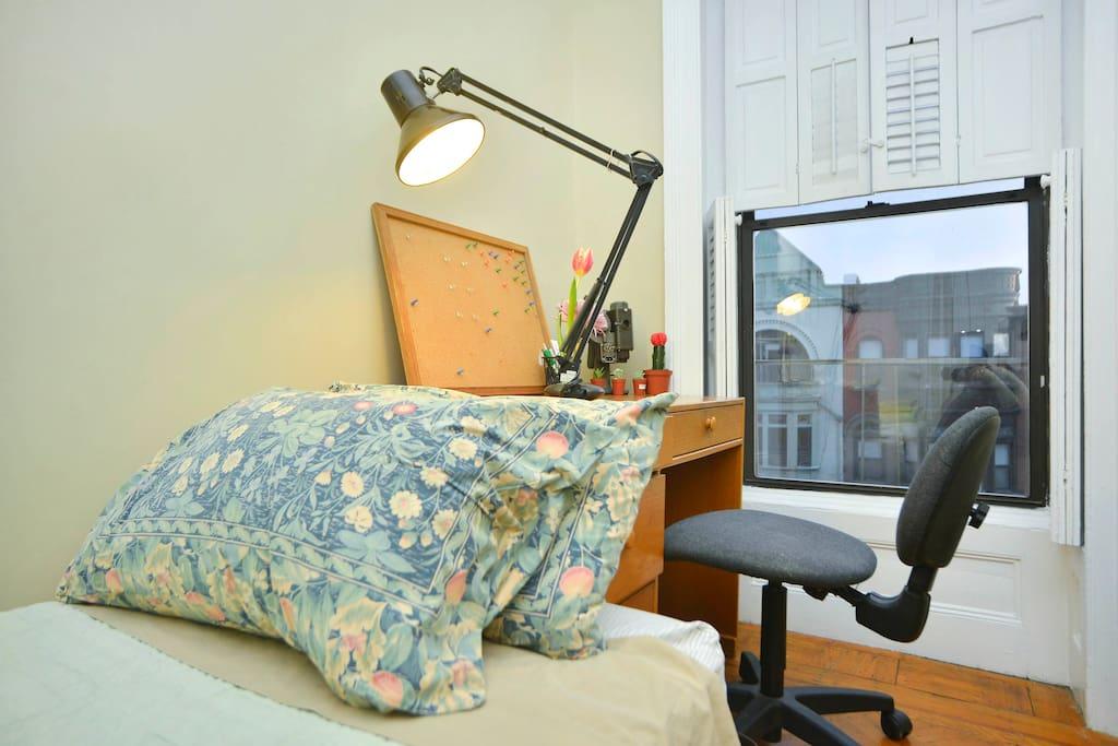 Cozy Top Floor Room of Brownstone