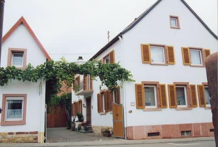 Auf dem Winzerhof nahe Landau Pfalz - Daire