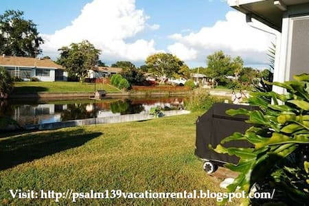 Psalm139 Canal Front Vacation Home - House