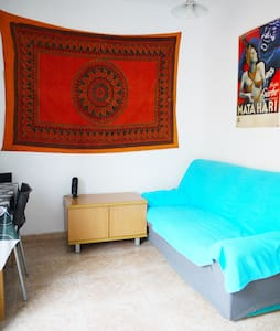 Centrally located bright 2-bedroom apartment - Barcelona - Apartment