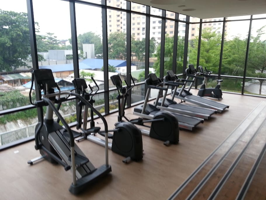 We have 2 Bodytech gyms to work up a sweat.