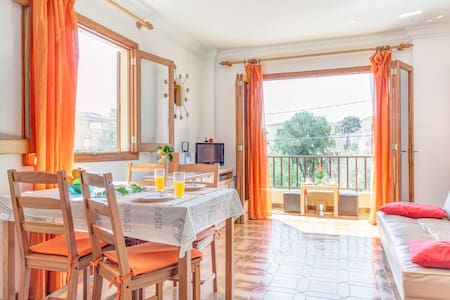 cozy apartment 50m from the beach - Can Picafort - Appartamento