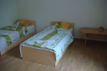 Twin room with shared bathroom  - Rīga