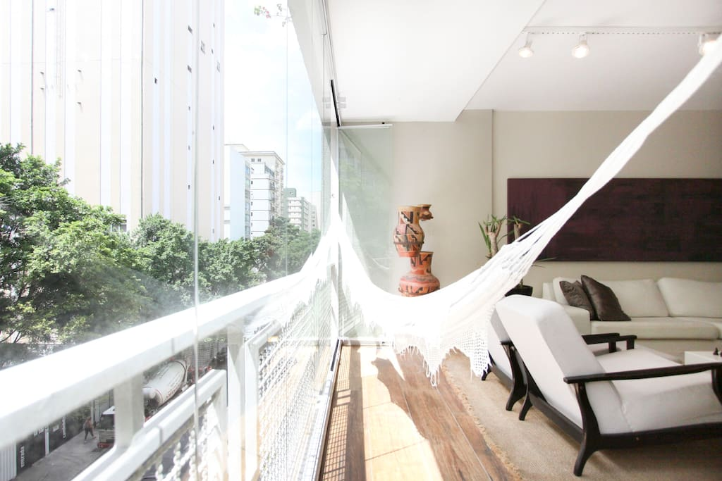 Hammock in the Balcony for your relax!