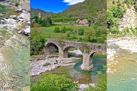 Dimezzo:alloggio in Santerno valley - Firenzuola - Leilighet