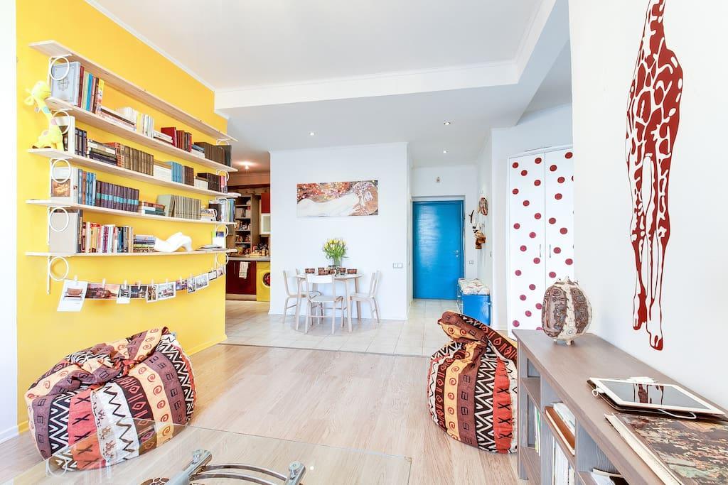 5* location of ART apartment!