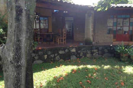 Casa rústica bella vista panorámica - Tlayacapan - Haus