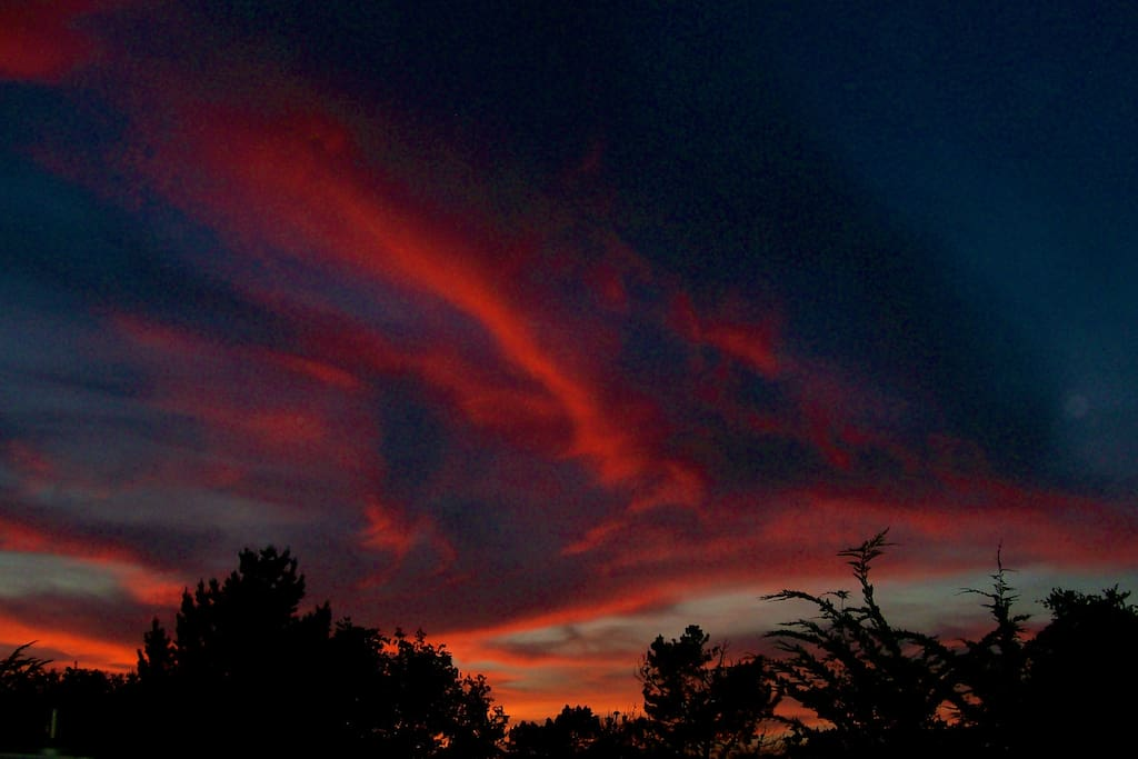 And enjoy our sunset skies...