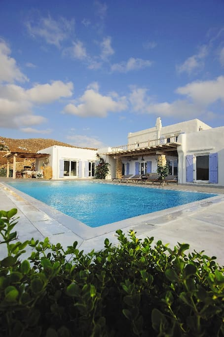 Luxury Mykonos Sea-View Villa