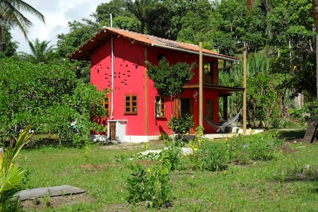 Eco-Loft (Casinha do Tiê) - Sommerhus/hytte