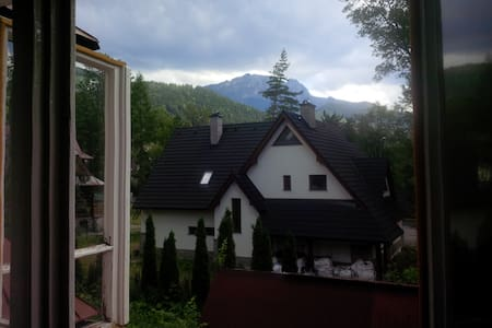 Room with the view of Giewont. - Dom