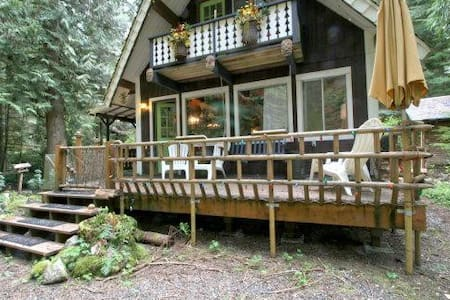 73SL, Cabin at Glacier, with Wooded View - Chalet