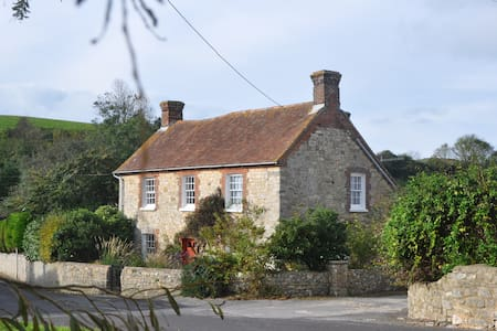 The Old Farmhouse West Lulworth Double Room - Huis