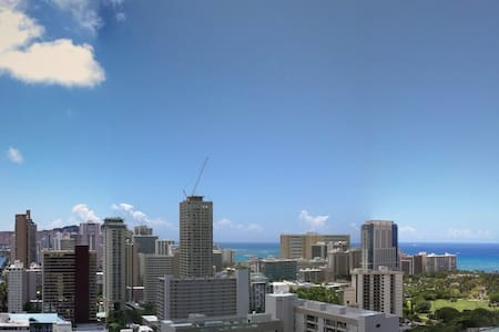 Beaches and Views in Waikiki - Honolulu - Apartment