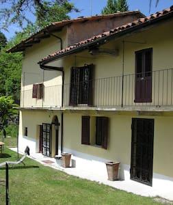 Traditional Piemonte house for rent - Bonvicino - Haus