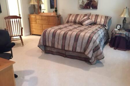Great Falls Home Guest Bedroom #3 - Great Falls