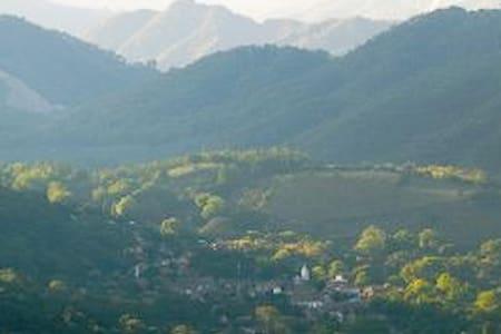 San Sebastian del Oeste by river - Talo