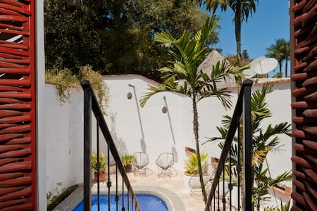 Location Bungalo-Pool & Kitchen - Sayulita - Hus