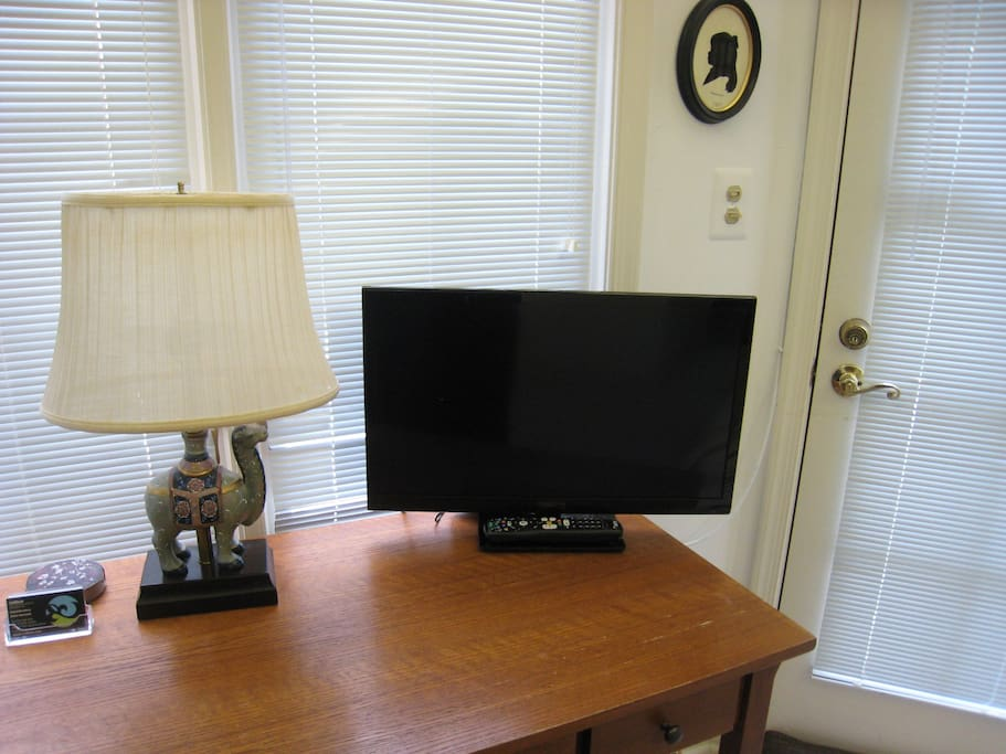 New HDTV with built-in DVD player