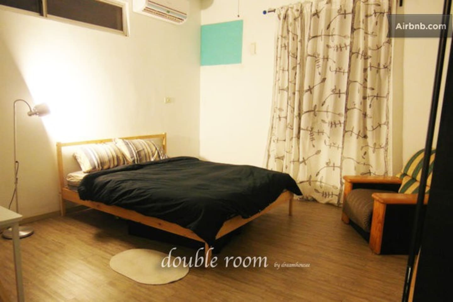 Big private room with double bed